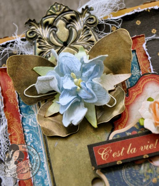 Susan Lui Graphic 45 French Country Treasure Box 4
