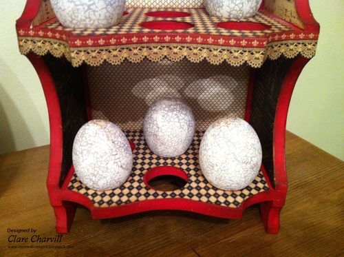 French Country Egg Stand Pic 6 Clare Charvill