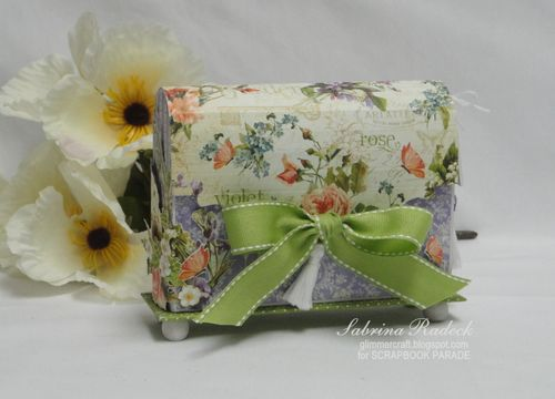 Secret Garden Card Box Graphic 45