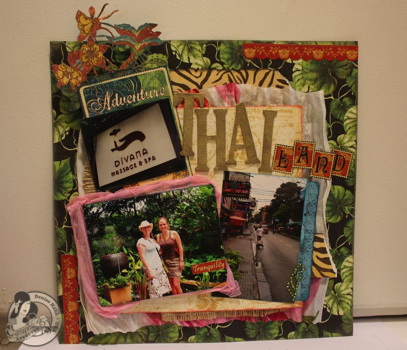 Denise Hahn Graphic 45 Tropical Travelogue Birdsong Layout Redo - 05-imp