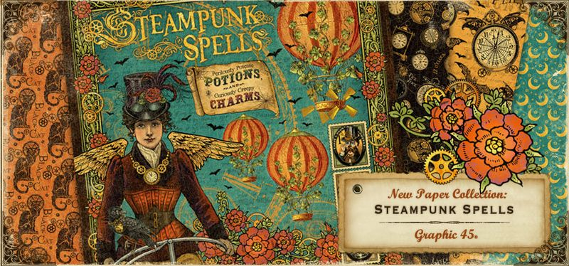 Steampunk Spells Sneak Peek Graphic 45 New