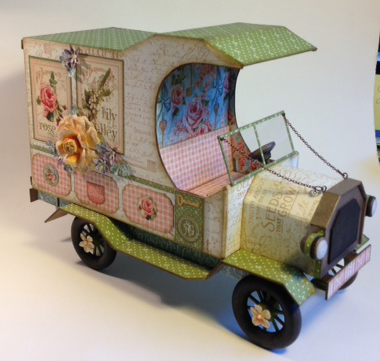 Laura Denison Secret Garden truck Graphic 45