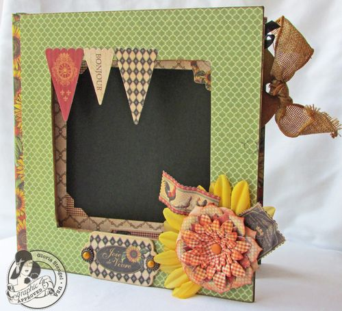 French Country Mini Album Altered Box Gloria Stengel