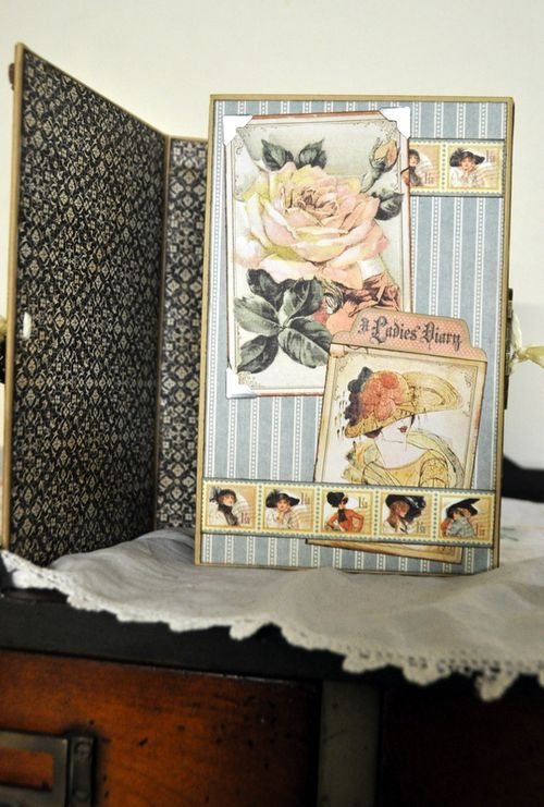 Jane Tregenza altered art box  (2)