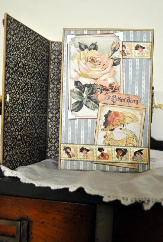 Jane Tregenza altered art box  (2)