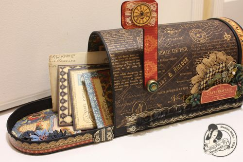 Denise-hahn-Graphic45-French Country-Altered-mailbox - 1-imp