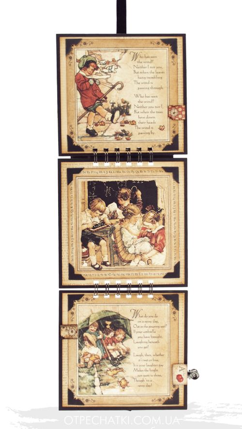 An ABC Primer Frame Home Decor Graphic 45 Olga Struk