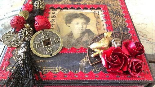 Bird Song Altered Box Mini Album Gift Rhea Freitag Graphic 45