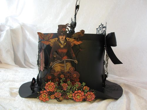 STEAMPUNK SPELLS-GRAPHIC 45-ALBUM-TOP HAT-ANNESPAPERCREATIONS-ANNE ROSTAD- 9
