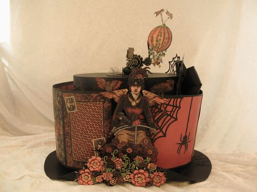 STEAMPUNK SPELLS-GRAPHIC 45-ALBUM-TOP HAT-ANNESPAPERCREATIONS-ANNE ROSTAD- 17