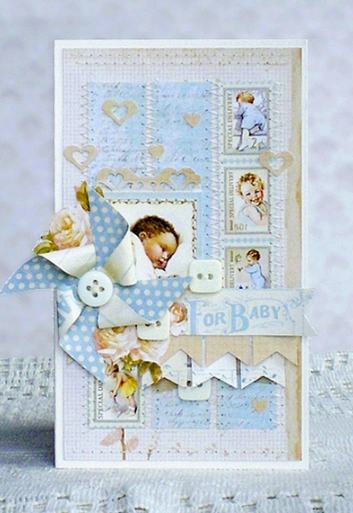 Little Darlings Graphic 45 card gift Ning