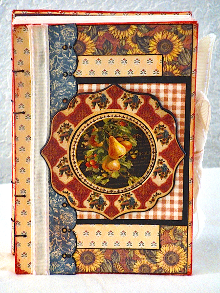 French Country altered journal Grpahic 45 gift idea Ning