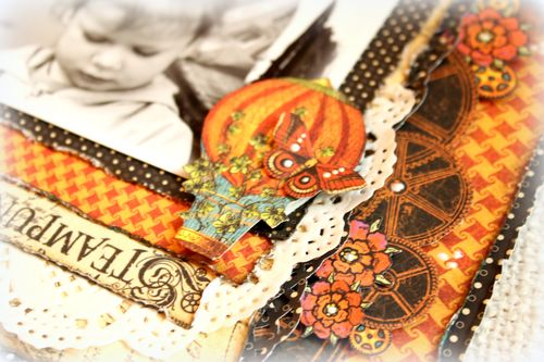 Steampunk Spells lay-out - detail 2
