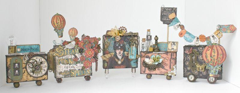 Steampunk-Spells-Train-Graphic-45-Miranda-Edney-altered art, gift, home decor
