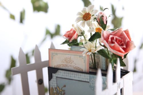 Secret Garden Olga Struk Graphic 45 mini album summer spring gift memories