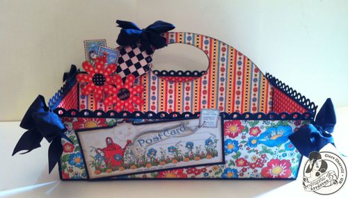 Clare Charvill Mother Goose Handy Caddy Storage, Organize, tutorial