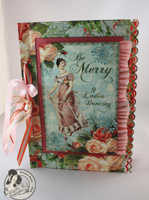 Denise-Hahn-Graphic 45-12 Days of Christmas-Greeting-Card - 1-imp