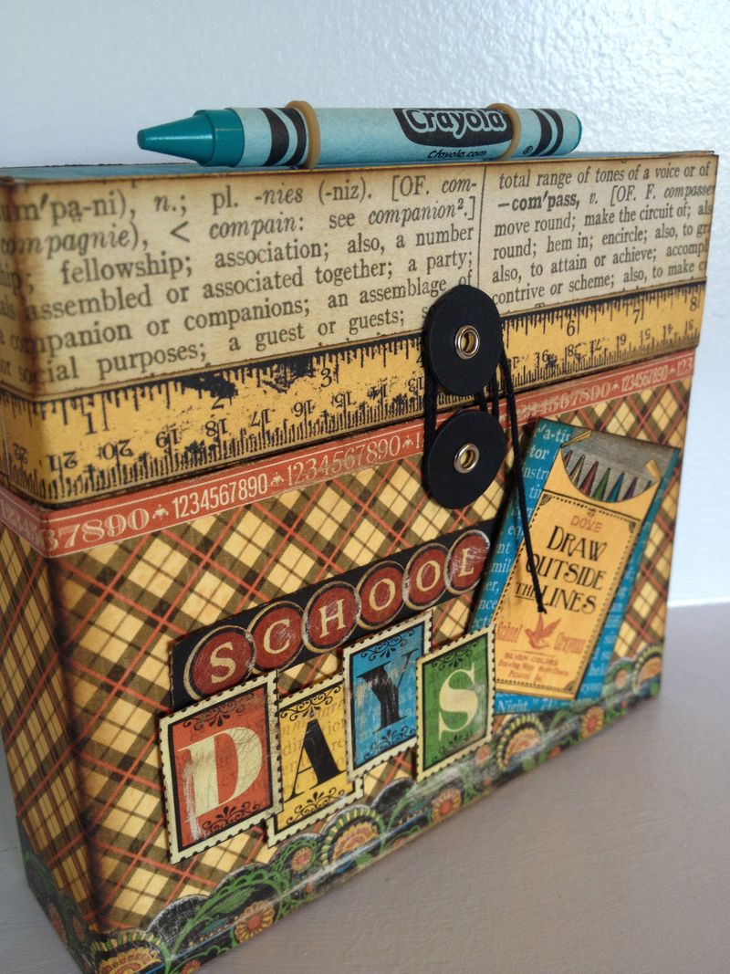Typography-School-Days-Altered-Crayon-Box-Mini-Tag-Book-Graphic45-Denise-Johnson-11-of-21
