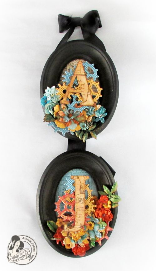 SteampunkSpells-Frames-Graphic45-AlbertoJuarez-fall, autumn, home decor, gift