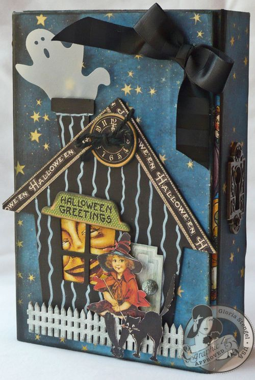 Happy Haunting Altered Art Box Gloria Stengel Graphic 45