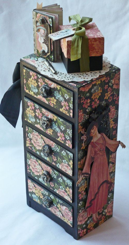 A Ladies' Diary Altered Art Gloria Stengel Graphic 45