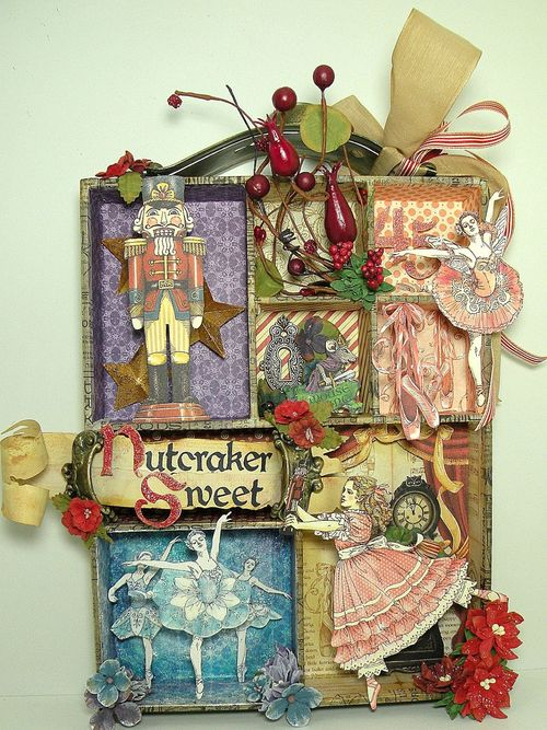 Nutcracker Sweet Altered Art Betto Cesare