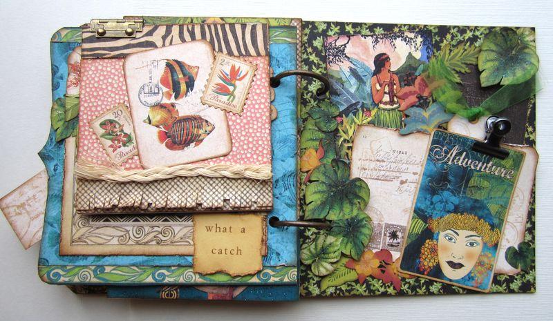 three ideas for pretty mini albums by maria cole graphic 45174