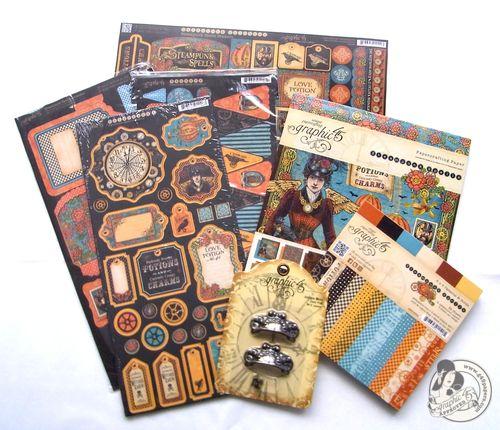 Steampunk Spells Contest Prize Graphic 45