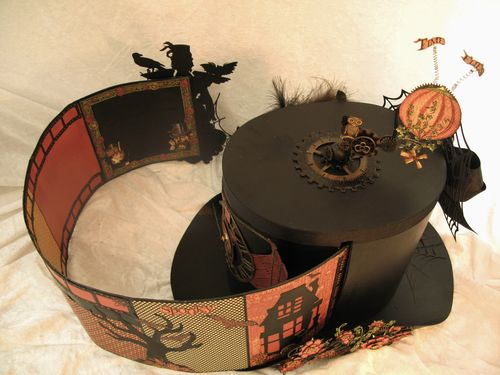 STEAMPUNK SPELLS-GRAPHIC 45-ALBUM-TOP HAT-ANNESPAPERCREATIONS-ANNE ROSTAD- 16