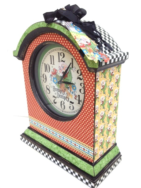 Mother Goose Graphic 45 Altered Clock sneak peek CHA Summer 2013