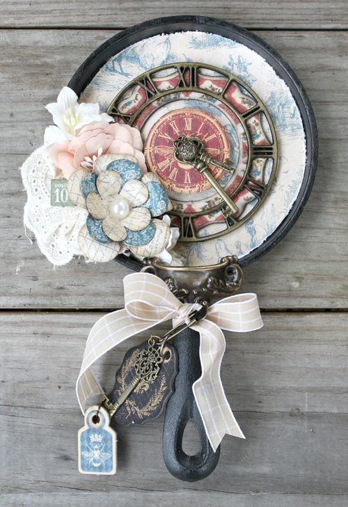 French-Country-Skillet-Graphic-45-Miranda-Edney-altered art, home decor, tutorial