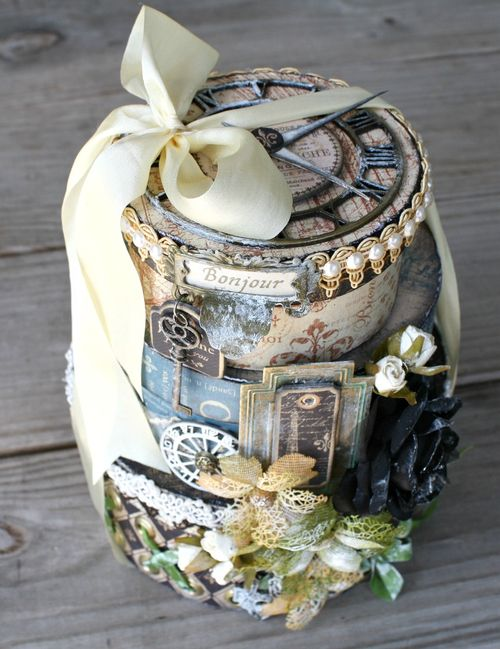 French-Country-Stacked-Boxes-Graphic-45-Miranda-Edney-gift, altered art