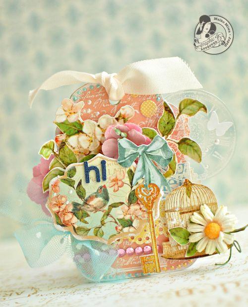Secret Garden Tag Maiko Miwa Graphic 45 gift
