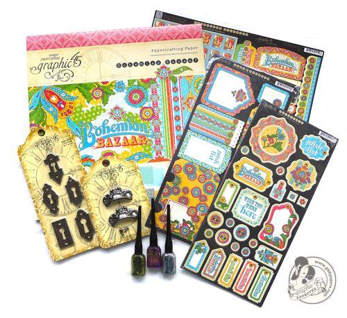 Bohemian Bazaar prize contest Graphic 45