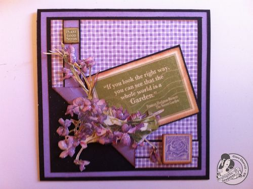 Secret Garden card Clare Charvill tutorial all occasions