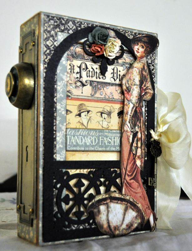 Jane Tregenza altered art box  (1)