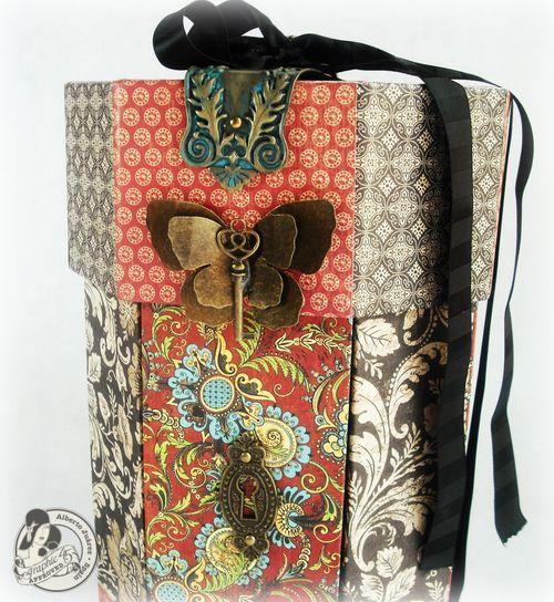 Alberto Juarez Graphic45 Pandora Box Olde Curiosity Shoppe