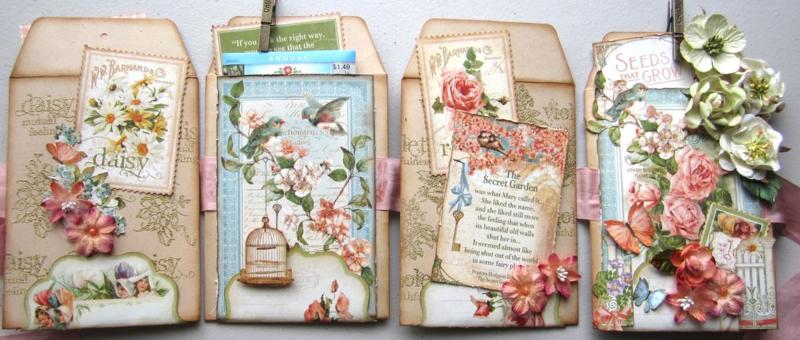 Secret Garden Mini Album Maria Cole Graphic 45