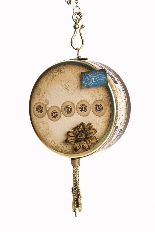 Place in Time Calendar Ornament Olga Struk Graphic 45