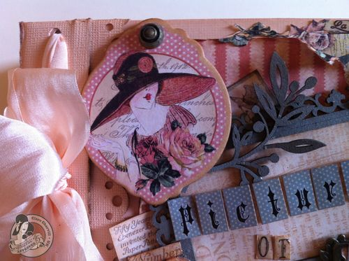 Graphic 45 Clare Charvill A Ladies Diary mini album video sneak peek