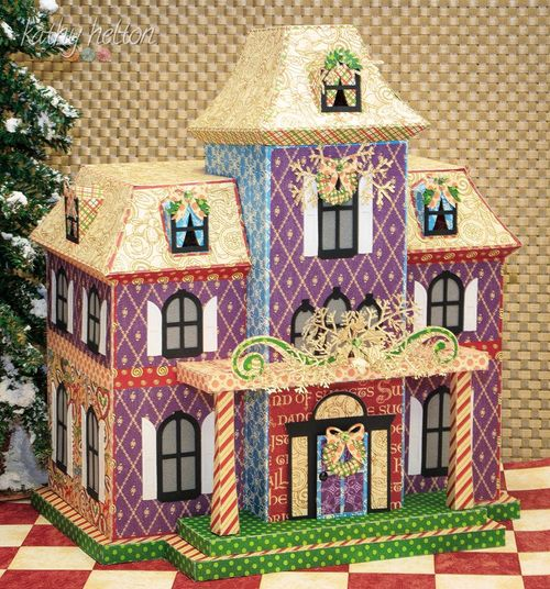 Nutcracker Sweet House Graphic 45 Facebook