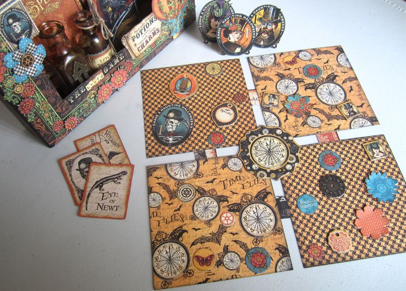 Steampunk-Spells-Matchbook-Box-Graphic45-Maria-Cole-9-of-11