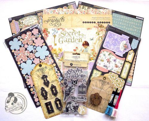 Secret Garden Prize Contest Winner Graphic 45
