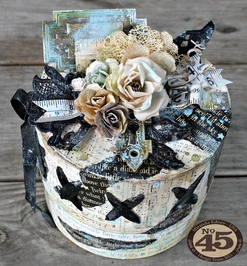 Mixed-Media-Mother-Goose-Box-Graphic-45-Miranda-Edney-treasure box, gift, home decor