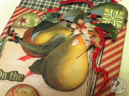 Clare Charvill CHA 2 12 Days of Christmas large tag Pic 3