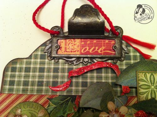 Clare Charvill CHA 2 12 Days of Christmas large tag Pic 2