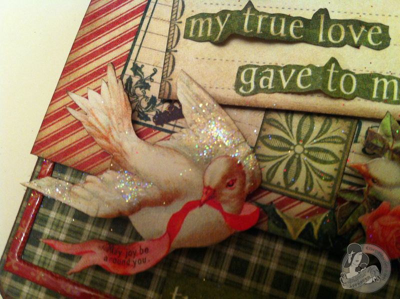 Clare Charvill CHA 2 12 Days of Christmas large tag Pic 5