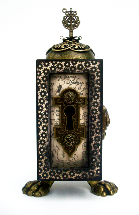SteampunkSpells_altered_box_Graphic45_Nichola_Battilana_home decor, gift, Halloween, holiday