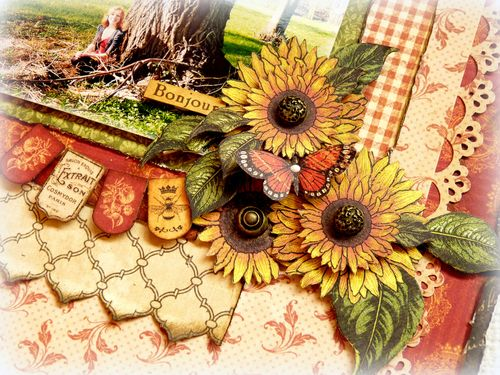 French Country lay-out - detail 2