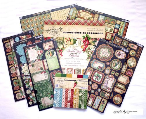 12 Days of Christmas contest Grpahic 45 prize